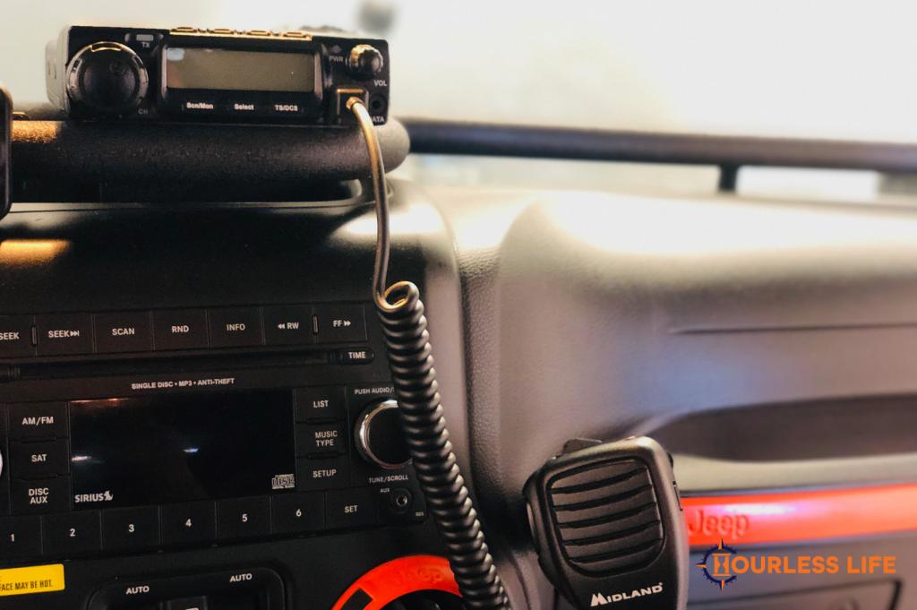 Midland Radio Installation in Jeep Wrangler