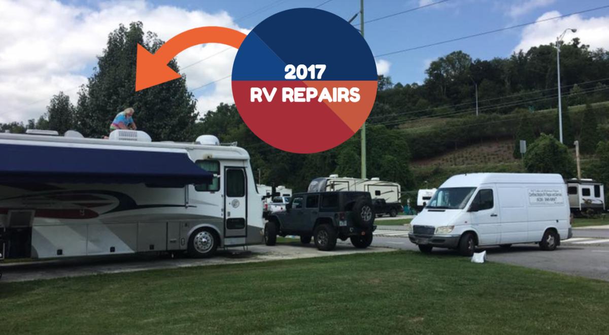 2017 RV Repairs and Maintenance Report
