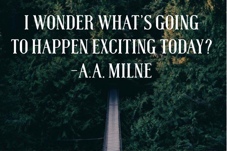 Adventure Quote A A Milne