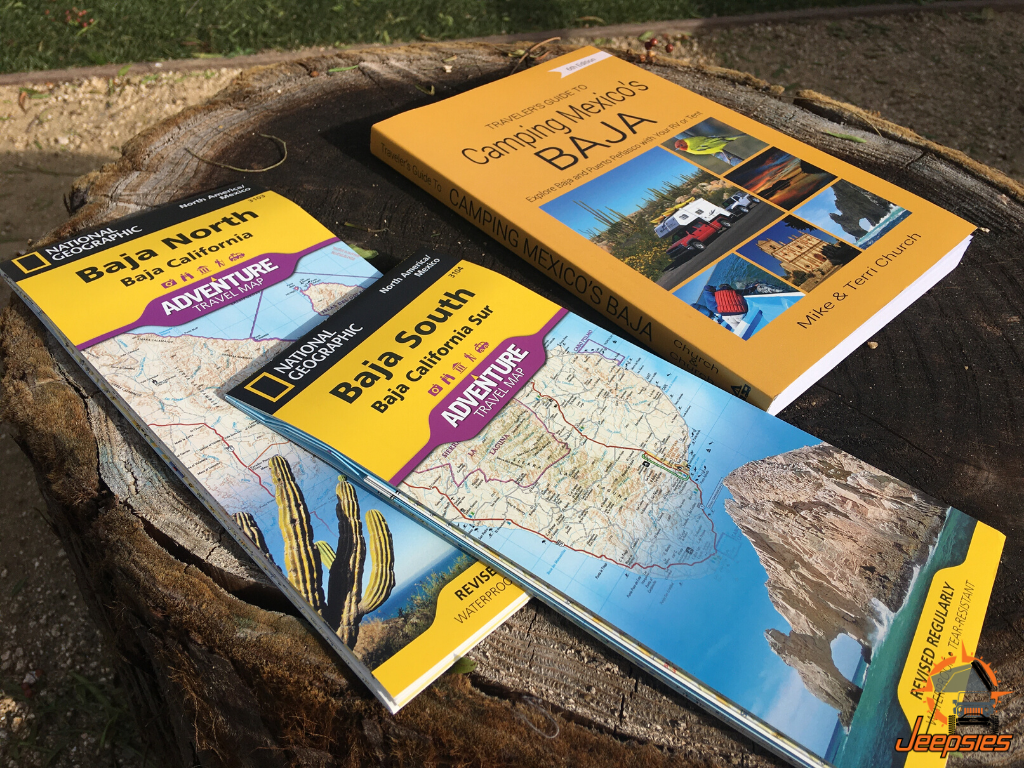 Baja Best Maps and Campground Guide