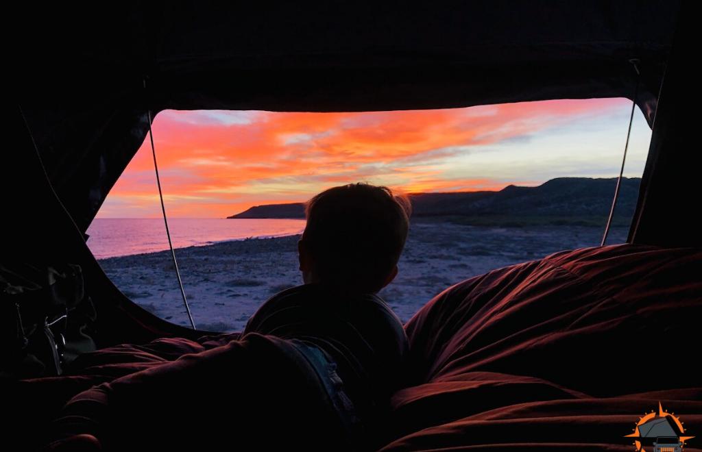 Overland Camping Punta Chivato Baja
