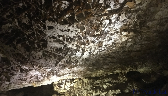 "Wind Cave is known for its ""boxwork"""