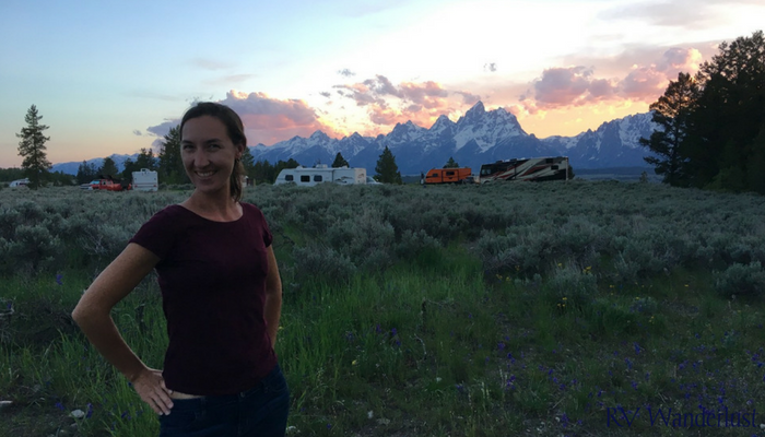 Upper Teton View Sunset