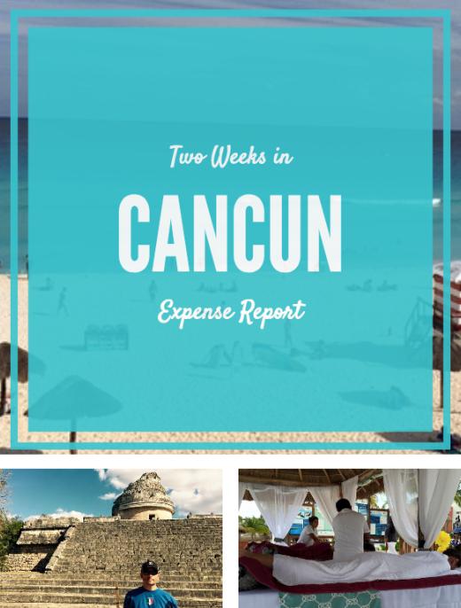Cancun Trip Expenses