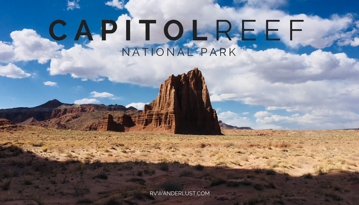 Capitol Reef National Park RV Trip