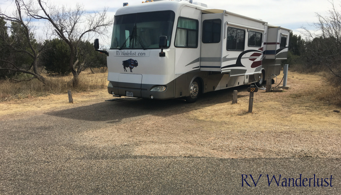 Caprock Canyons State Park RV Campground