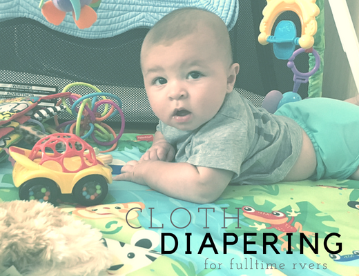 Cloth Diapering Guide for Fulltime RVers