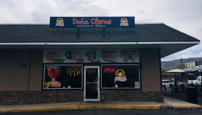 Dona Cleme Mexican Food in Heber City