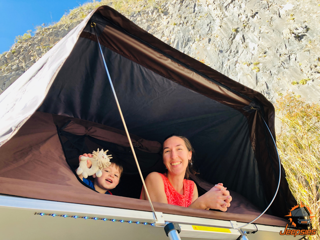 Family-friendly Roof Top Tent for Families