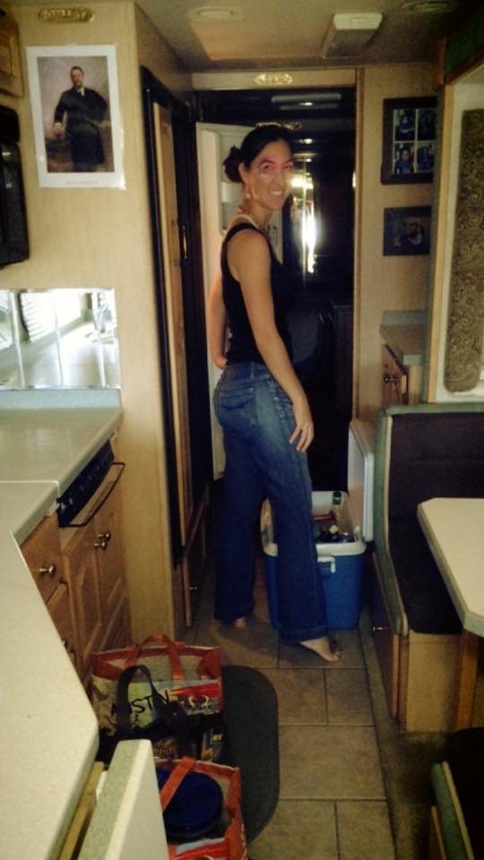 Filling RV Fridge