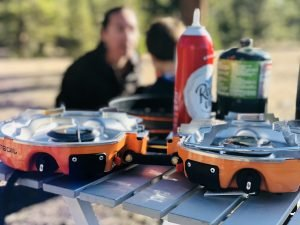 Genesis Basecamp stove overlanding and backcountry stove