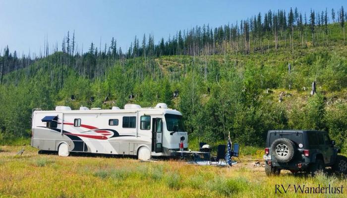 Glacier National Park Free RV Camping