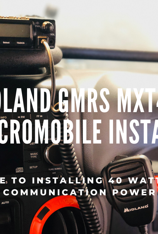 Installation Guide for Midland GMRS MXT400 MicroMobile Radio