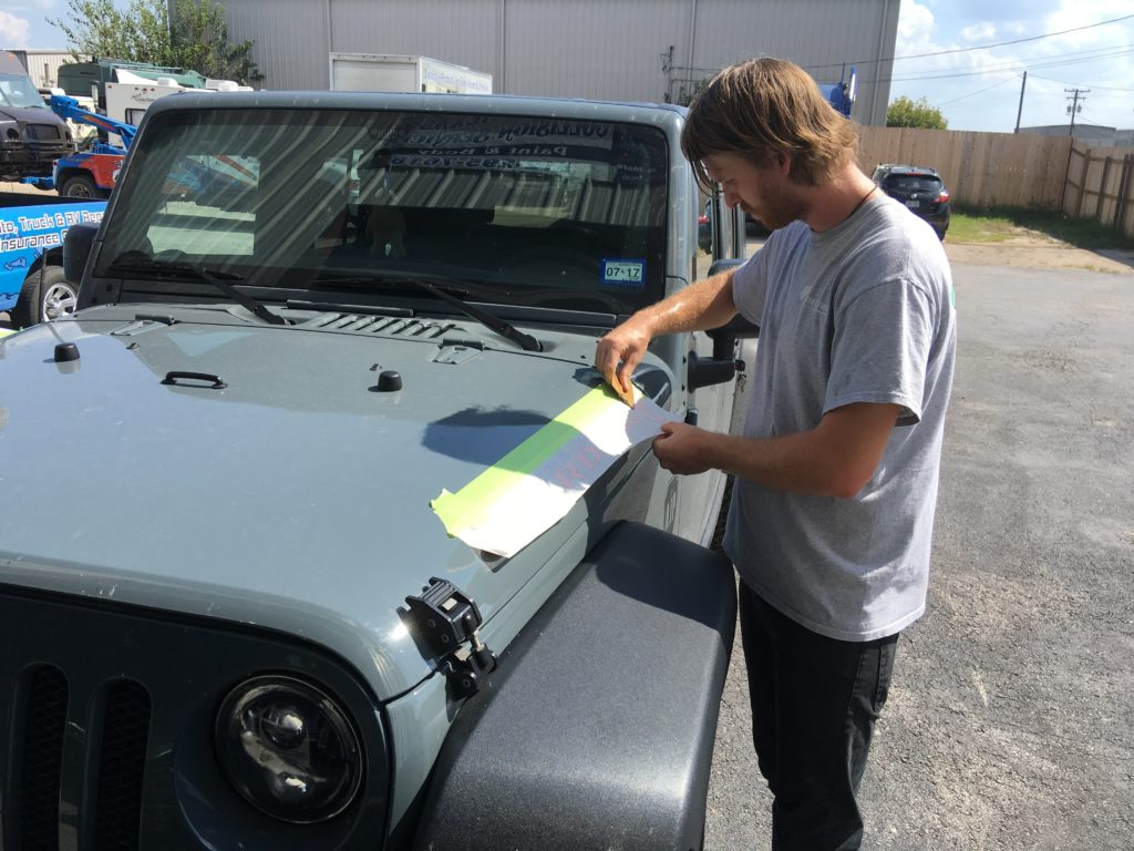 How To Install Jeep Decals Hourless Life