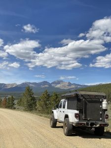 Jeep Gladiator With Alu-Cab Canopy Camper
