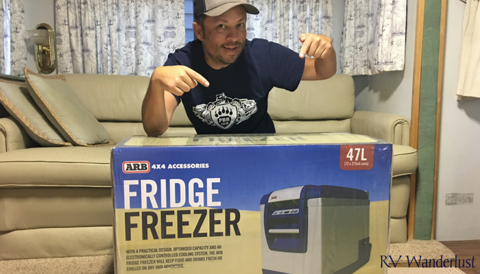 ARB Fridge Freezer for Jeep Overlanding