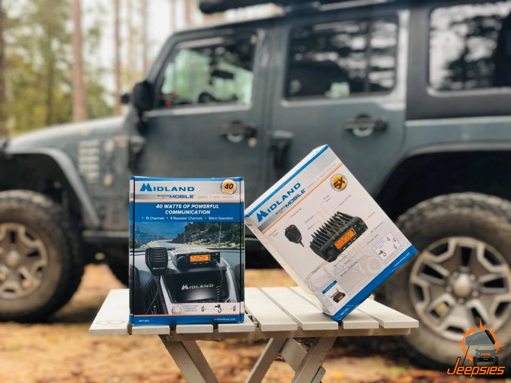 Midland Micromobile MXT400 Radios for Overlanding