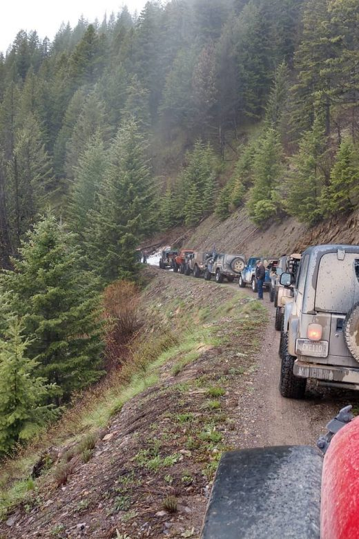 Montana Back Roads 4x4 Club Off-road Trail