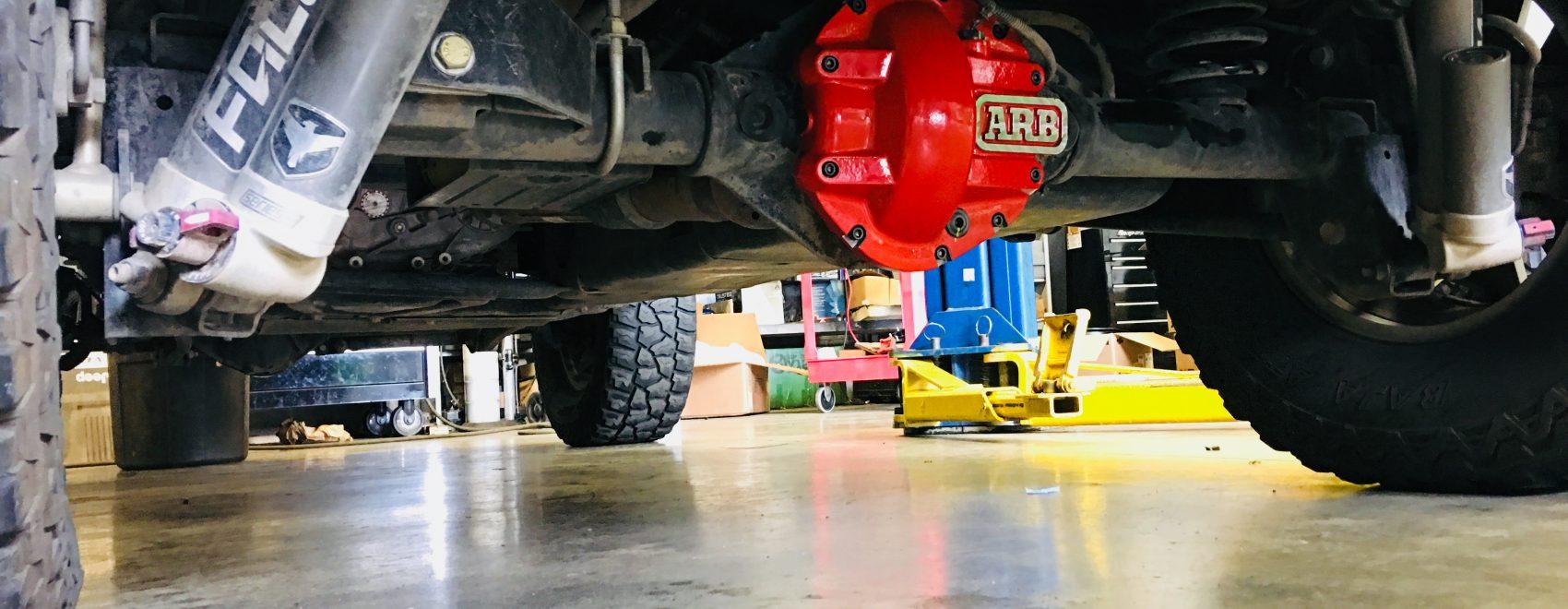 overlanding Jeep build drivetrain