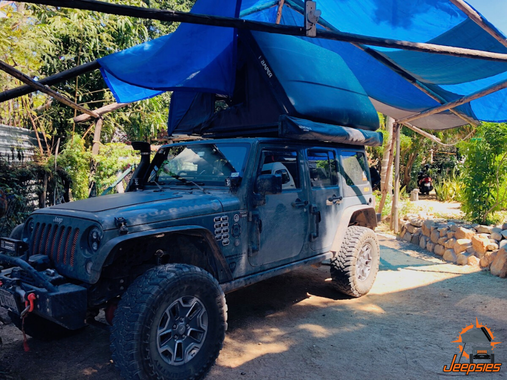 Overland Camping in Central Cabo San Lucas