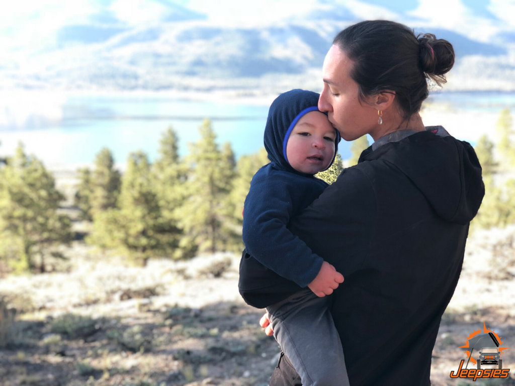 Overlanding With Toddler at Twin Lakes in Colorado