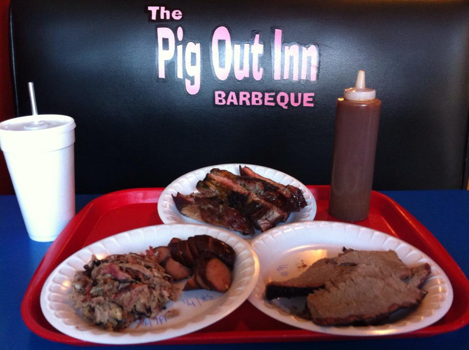 Pig Out Inn BBQ in Natchez
