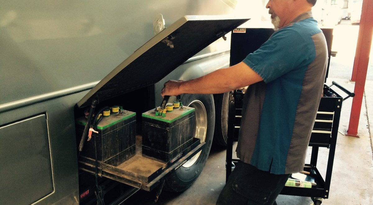 RV Battery Maintenance