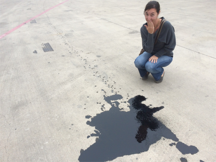 RV Oil Spill