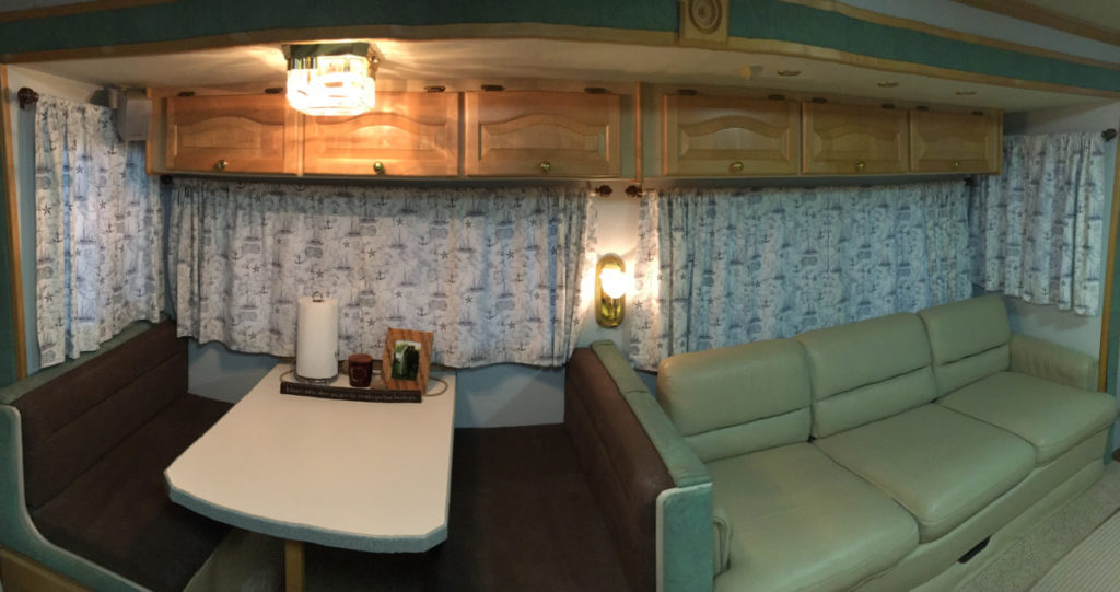 RV Redesign With New Curtains