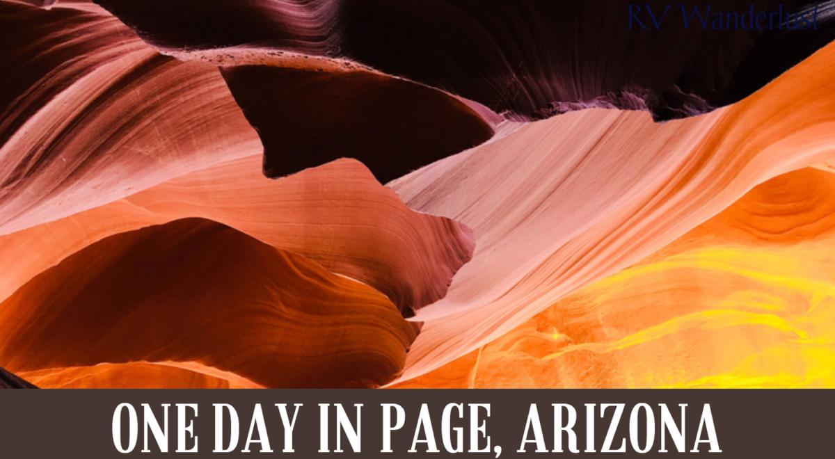 RV Road Trip to Page, Arizona