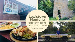 RV Trip to Lewistown Montana