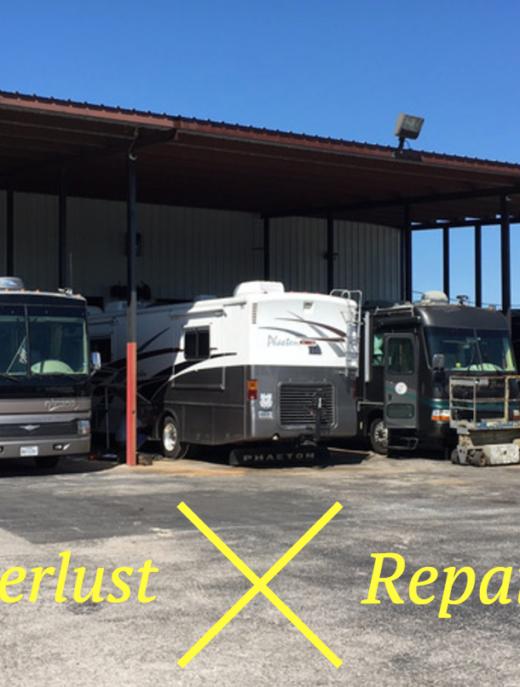 RV Wanderlust Repair Updates