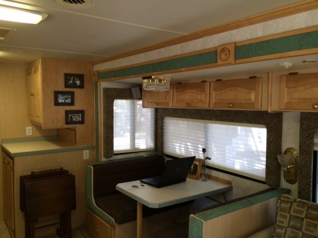 Redecorated RV Interior