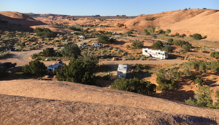 Moab Utah Campgrounds