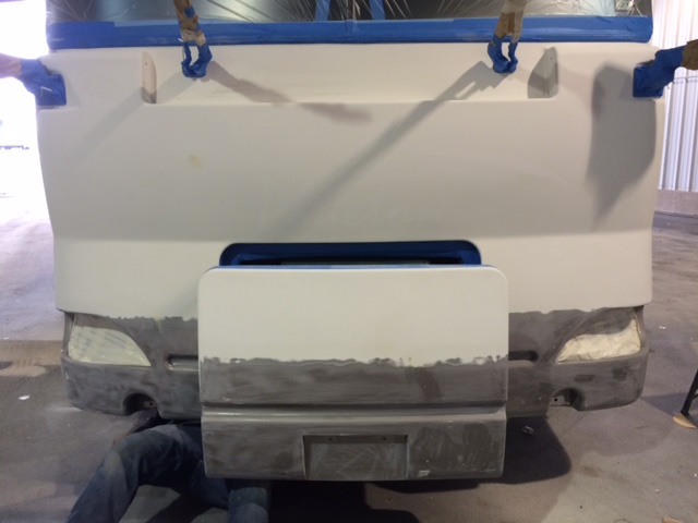 RV Front End Sanded
