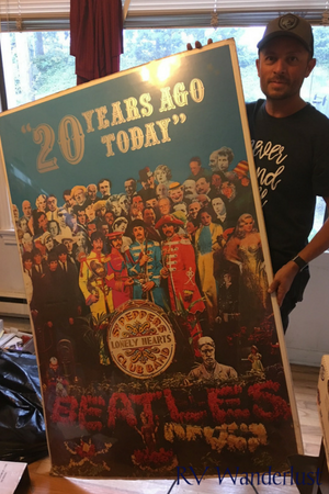 Sgt Pepper's Lonely Hearts Club Poster