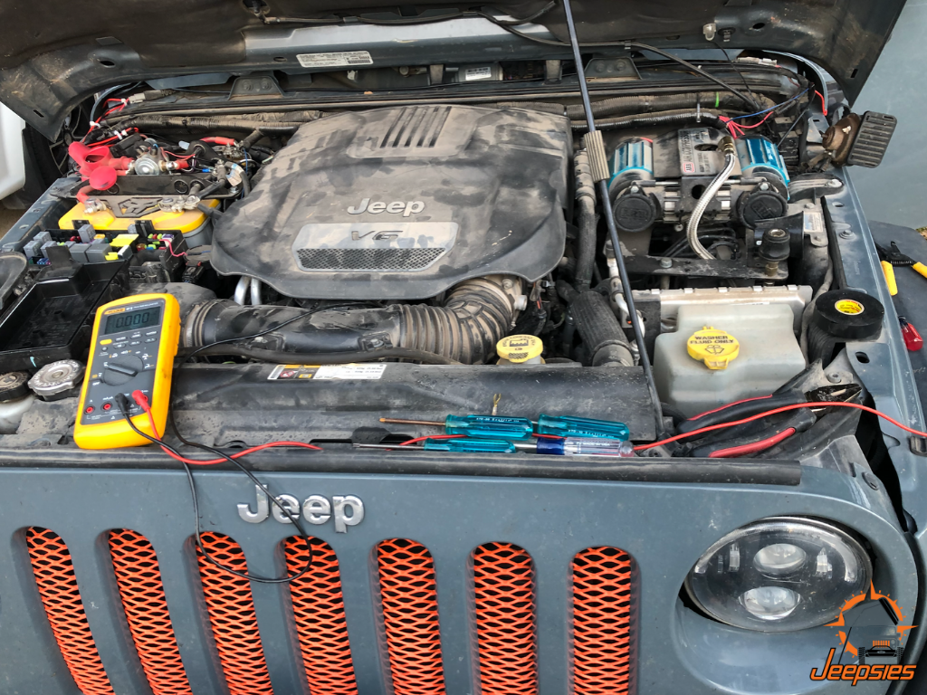 Testing Power Components Jeep Install
