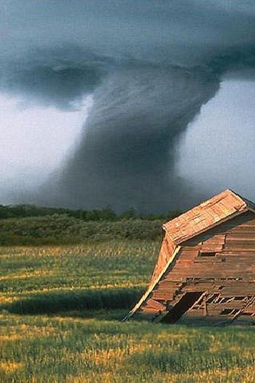 A tornado in the central USA