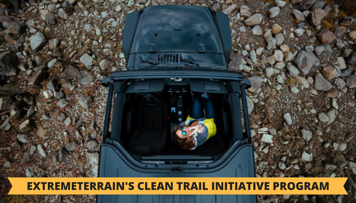Trail maintenance funds provided by ExtremeTerrain