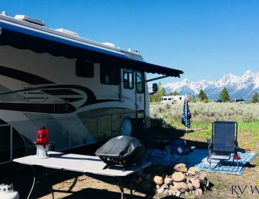 Best Dry Camping Upper Teton View