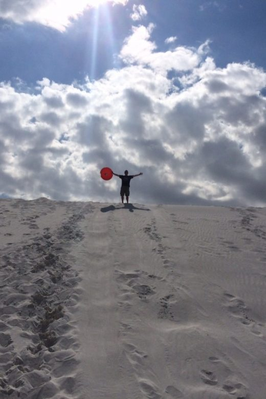 Alkali Flat White Sand Dunes National Monument