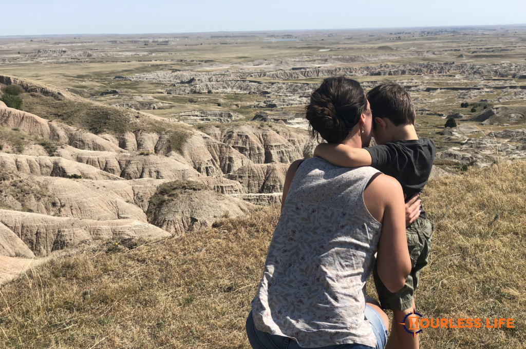 Badlands National Park Dispersed Camping