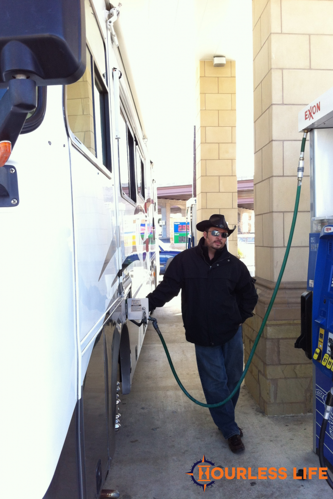 Filling RV With Diesel for First Time