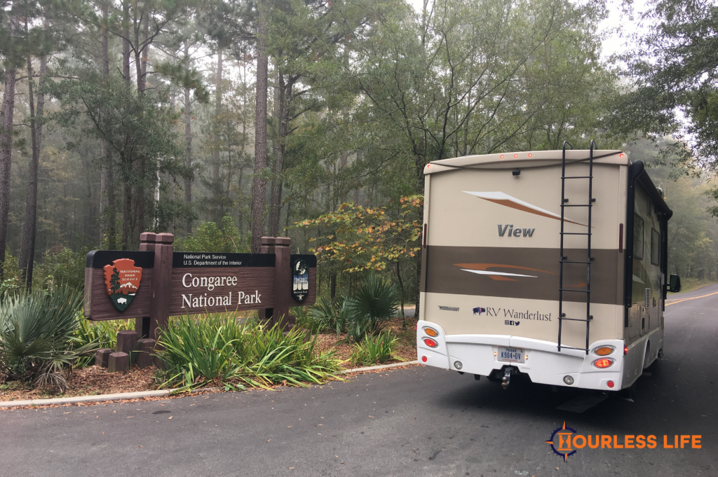 RVing to Congaree National Park