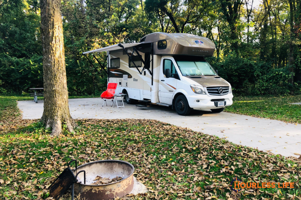 Walnut Woods State Park Campground