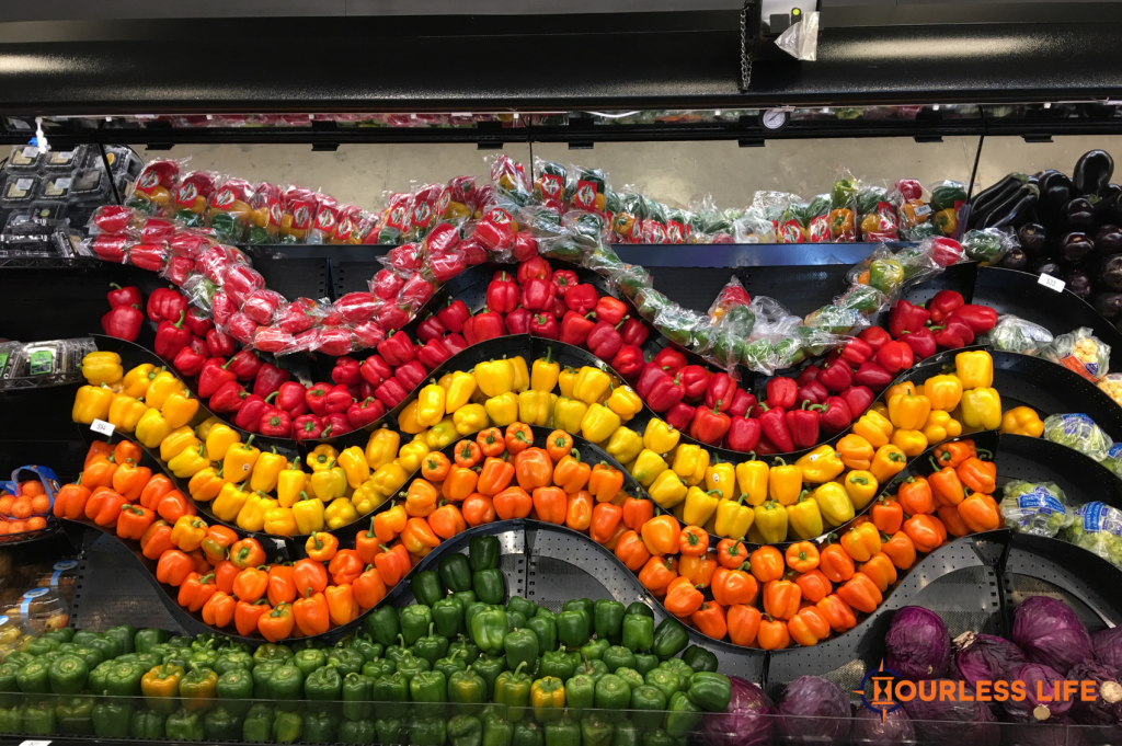 Bell Pepper Display Mexico