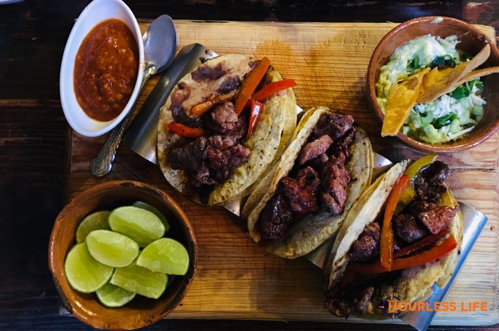 Tacos in San Luis Potosi Mexico