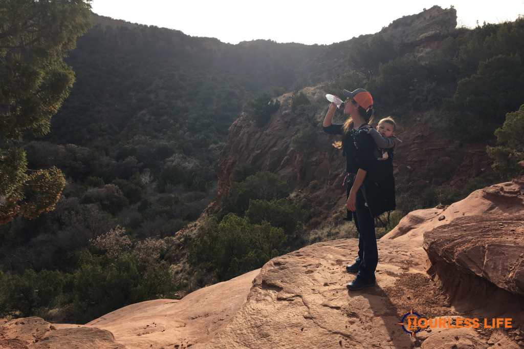 Hiking With Infant in Carrier