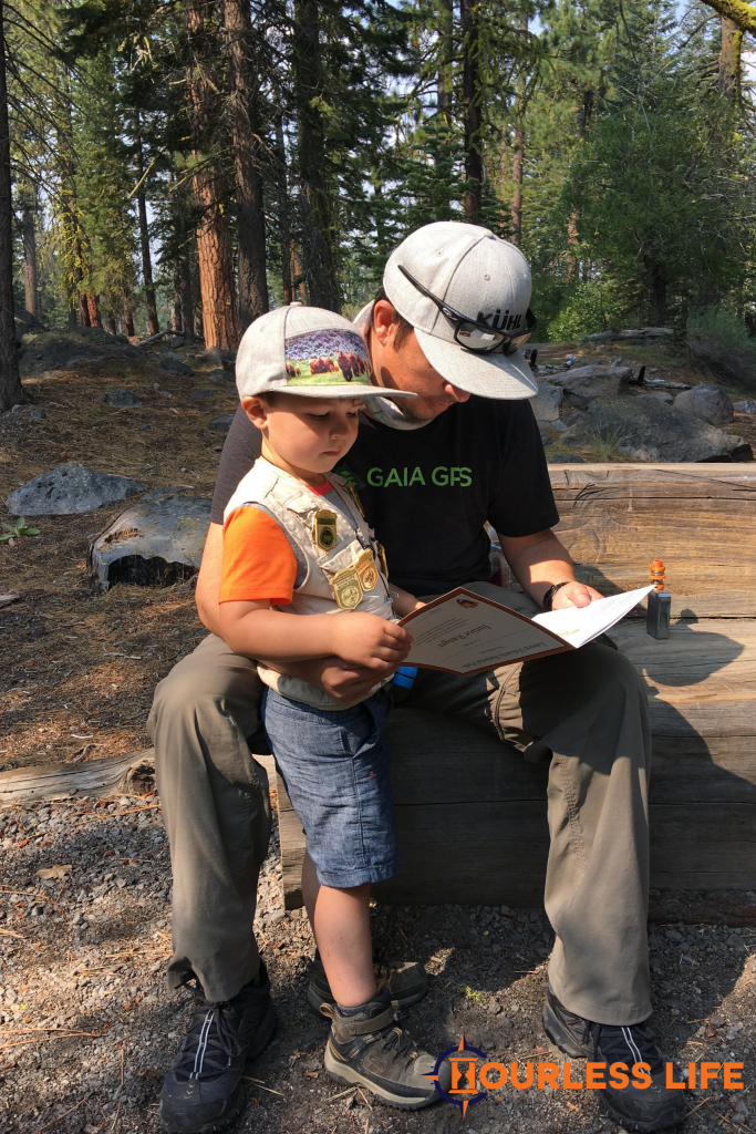 Hiking With Junior Ranger Booklet