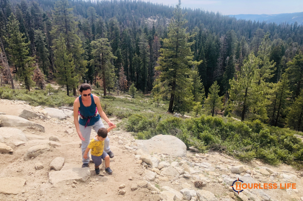 Hiking With Young Kids at Yosemite